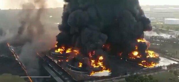 Пожежа в Індонезії, фото: скріншот з відео
