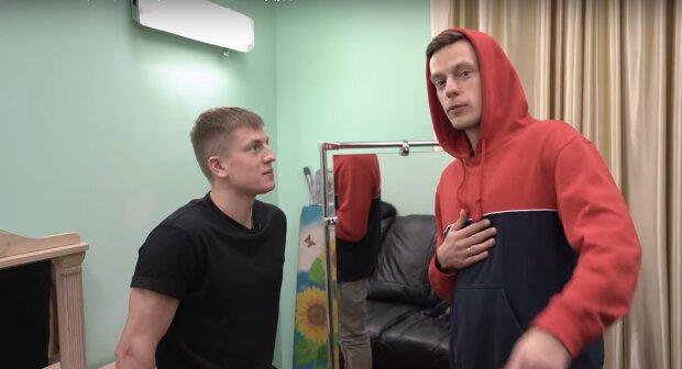 Олексій Щербаков, фото з відео