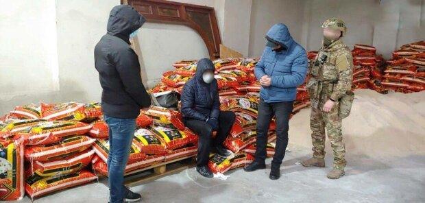 Контрабанда во Львове, фото: СБУ
