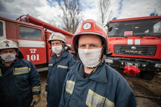 Спасатели в Чернобыле, фото Іnstagram