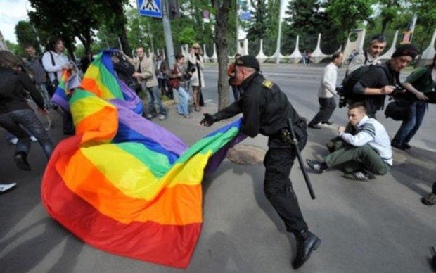 Неадекватные россияне избили пару геев. Угадайте, за что