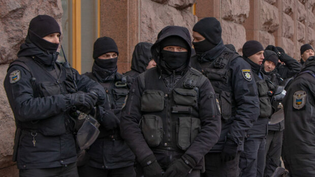 Киевские полицейские, фото - Информатор