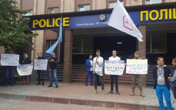 Піщані розбірки у Києві: копи здивували обіцянкою
