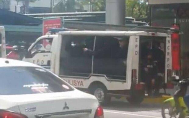 Напад у торговому центрі Філіппін, скріншот з відео Twitter