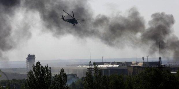 """Артилерія """"ДНР"""" б'є із центру Донецька"""