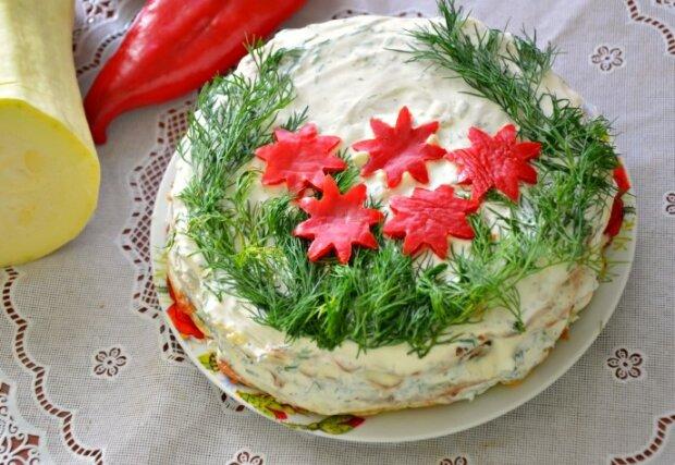 Кабачковый торт, фото из свободных источников