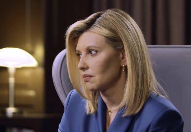 Елена Зеленская, кадр из видео