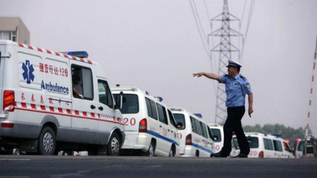 скорая Китай