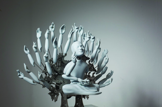 Електронна Каннон: японці винайшли робота-ченця, який вчить буддизму