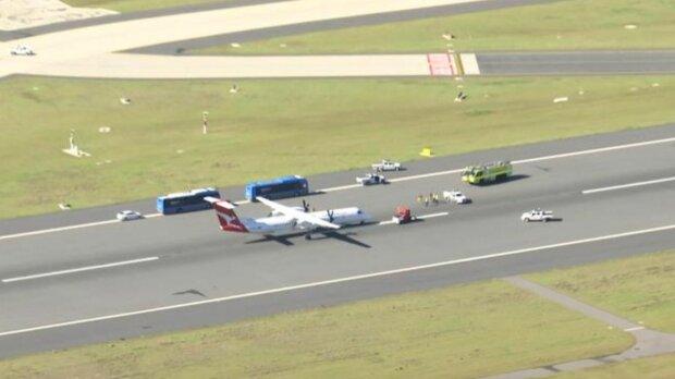 Літак QF2420, фото: 7News
