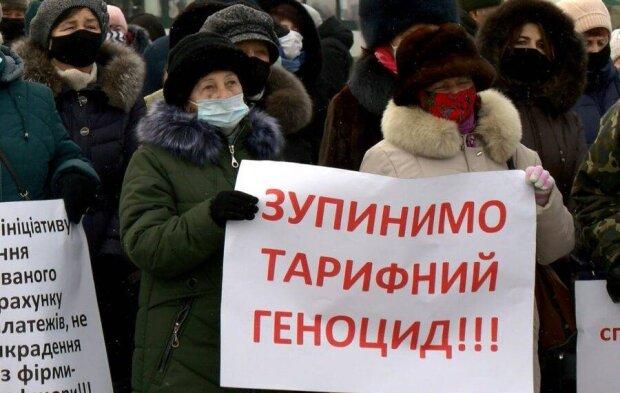 тарифні протести, фото з вільних джерел