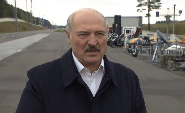 Олександр Лукашенко, скрін з відео