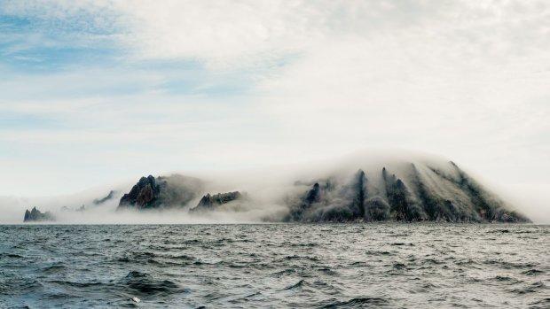 Гігантський острів-привид, що виник посередині водойми, налякав прикордонників до напівсмерті: фото