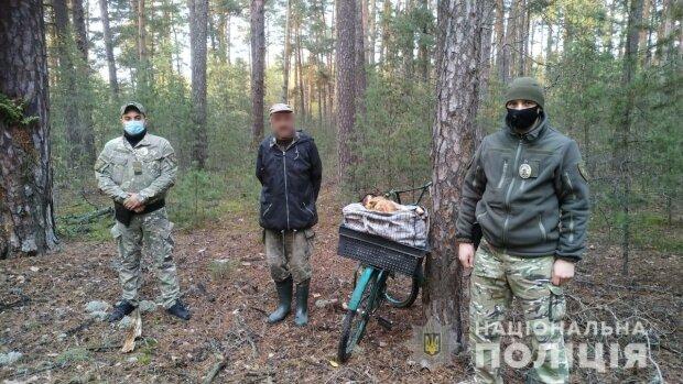 Грибники / фото: Поліція Київської області