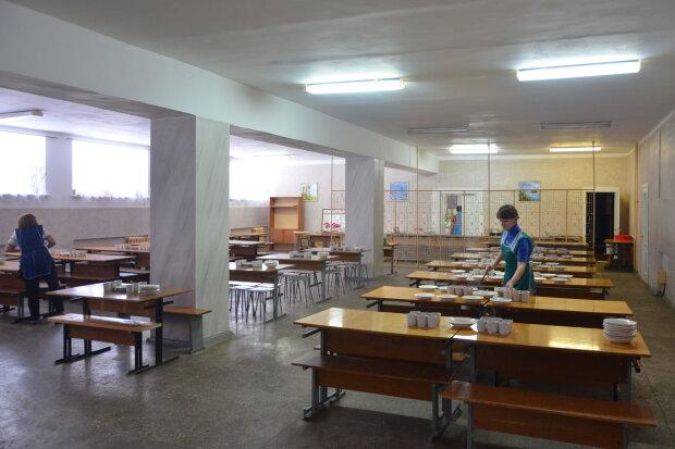 Школьная столовая, фото: school159.com.ua