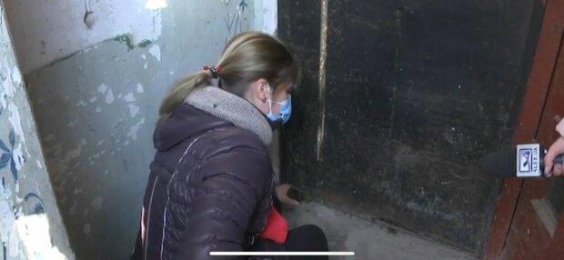 Під'їзд в Запоріжжі, фото: скріншот з відео