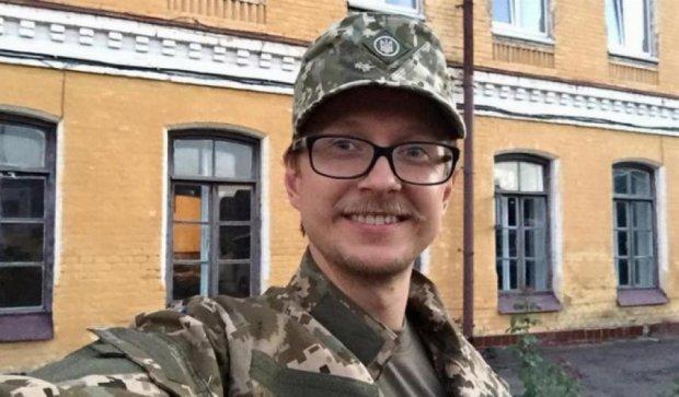 Телеведучого Майкла Щура вишколюють на Рівненському полігоні