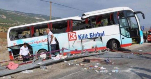 Четверо туристов из России погибли в аварии автобуса в Турции
