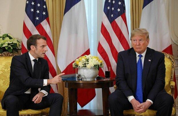 Макрон и Трамп, фото: Getty