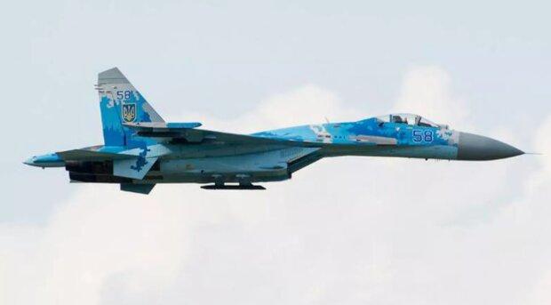 В России опозорились из-за украинского самолета: выдали Су-27 с трезубцем за свой