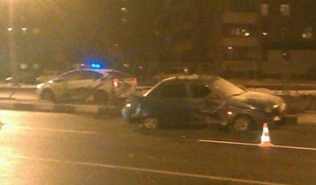 П'яний водій розтрощив чотири прольоти огорожі (фото)