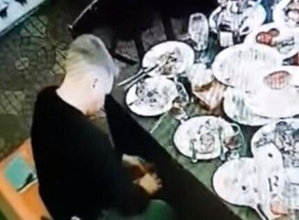 Коп-вор, Скриншот из видео