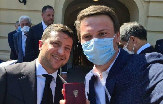 Володимир Зеленський і Дмитро Комаров / фото: instagram.com/komarovmir