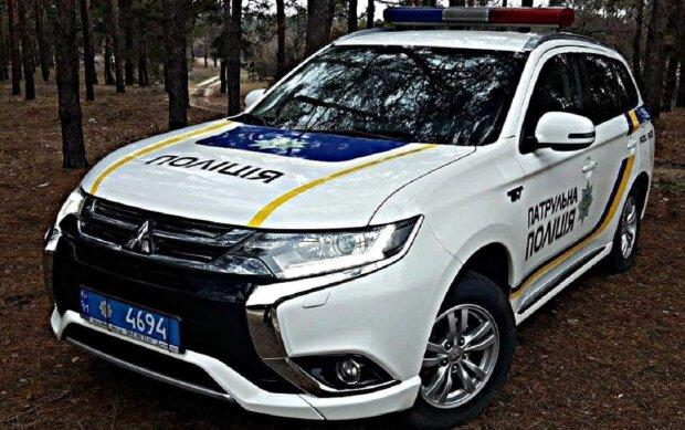 Автомобиль полиции, фото иллюстративное: Facebook патрульная полиция Сумской области