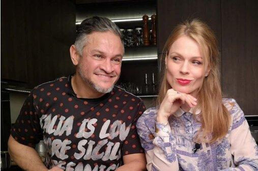 Эктор Браво и Оля Фреймут, фото Instagram