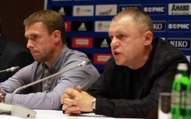 Президент Динамо очікував, що Ребров залишиться