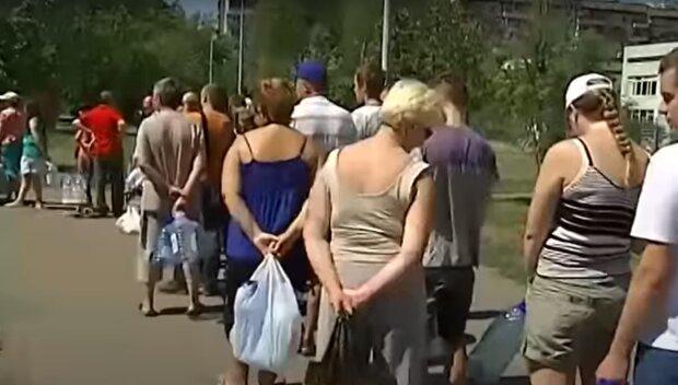 Очередь за водой