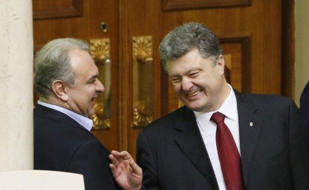 Давид Жвания и Петр Порошенко