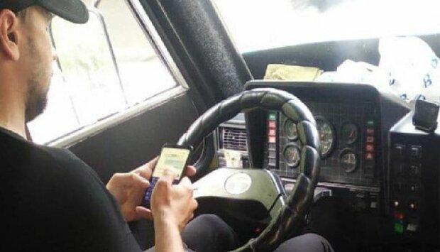 Одеський водій, фото: Telegram