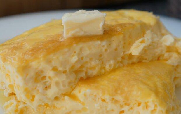 Омлет, кадр из видео