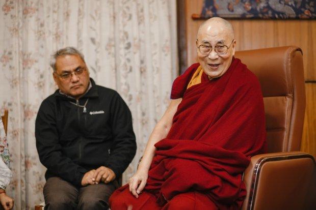 Далай-лама. Фото Ульяны Рудич