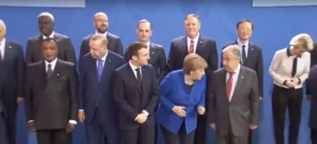 Путін загубився, фото скріншот з відео