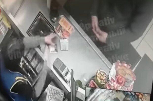 Мошенники в супермаркете, facebook.com/KyivOperativ