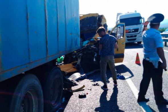 Авария в Крыму, фото: МЧС России