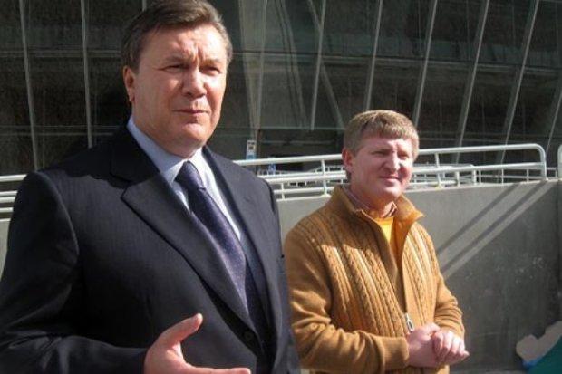 Рінат Ахметов та Віктор Янукович