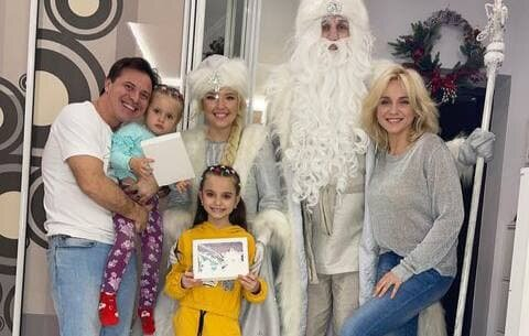 Лилия Ребрик с семьей / фото: Instagram