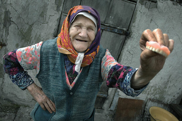Пенсіонерка, фото з вільних джерел