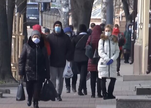 Коронавирус в Украине, скриншот: YouTube