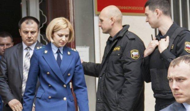 Поклонська погрожує координаторам кримського Майдану в'язницею