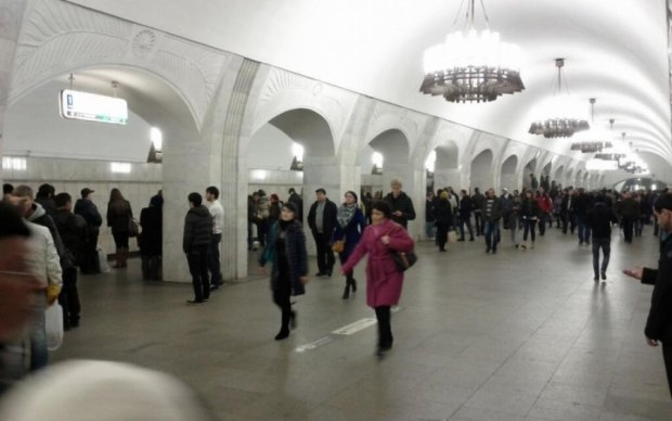 У московському метро оголосили повітряну тривогу