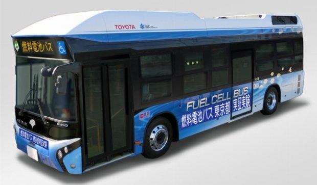 В Японии проходят испытания первые водородные автобусы