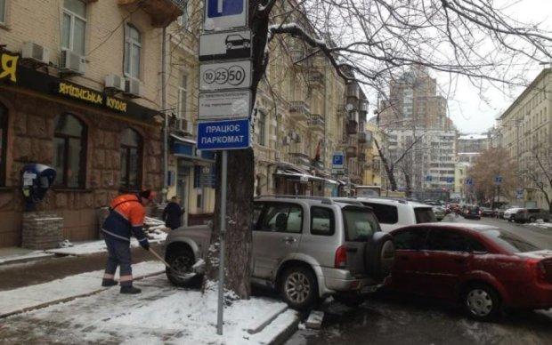 Запрет на парковку в Киеве: стал известен список улиц