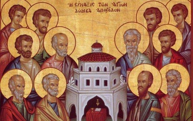 Собор 12 апостолів: історія і традиції свята християн