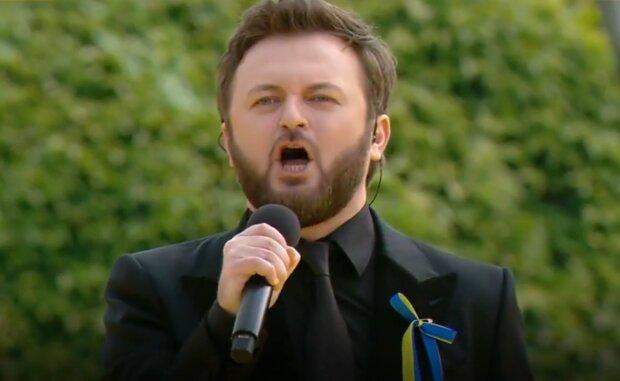 Государственный гимн Украины в исполнении Михаила Хомы (Dzidzio)