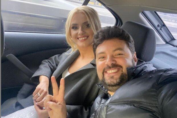 Ирина Федишин с мужем, фото из instagram