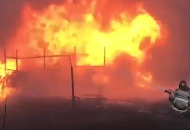 Пожежа, кадр з відео